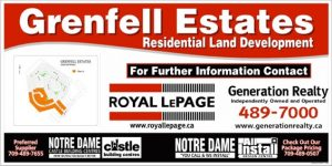 Grenfell Estates Subdivision in Grand Falls-Windsor