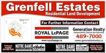 Grenfell Estates Subdivision Map